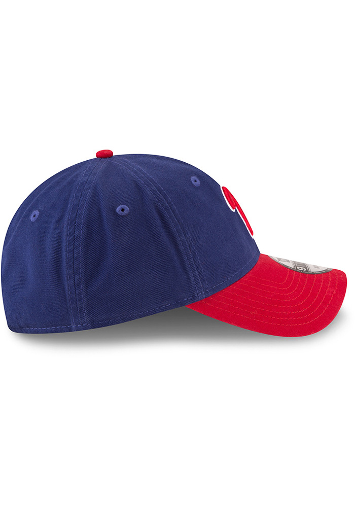 New Era Philadelphia Phillies Core Classic Replica ALT 9TWENTY Adjustable Hat - Blue - Image 6