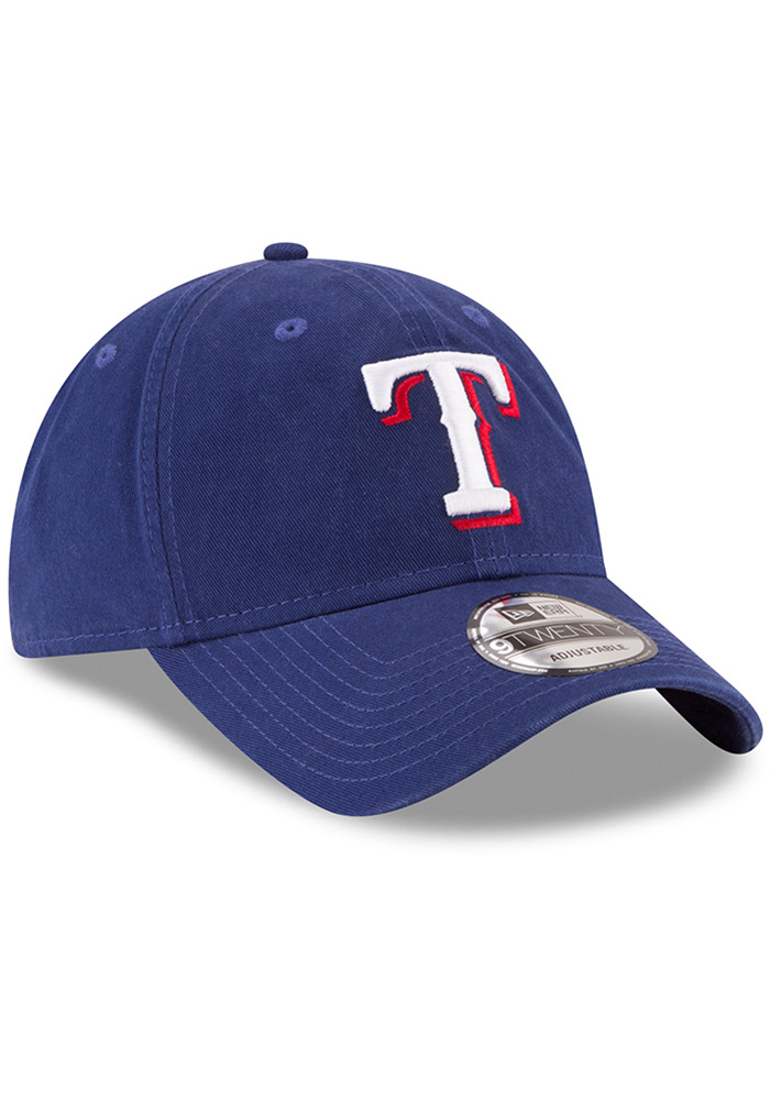 New Era Texas Rangers Core Classic Replica Game 9TWENTY Adjustable Hat - Blue - Image 2