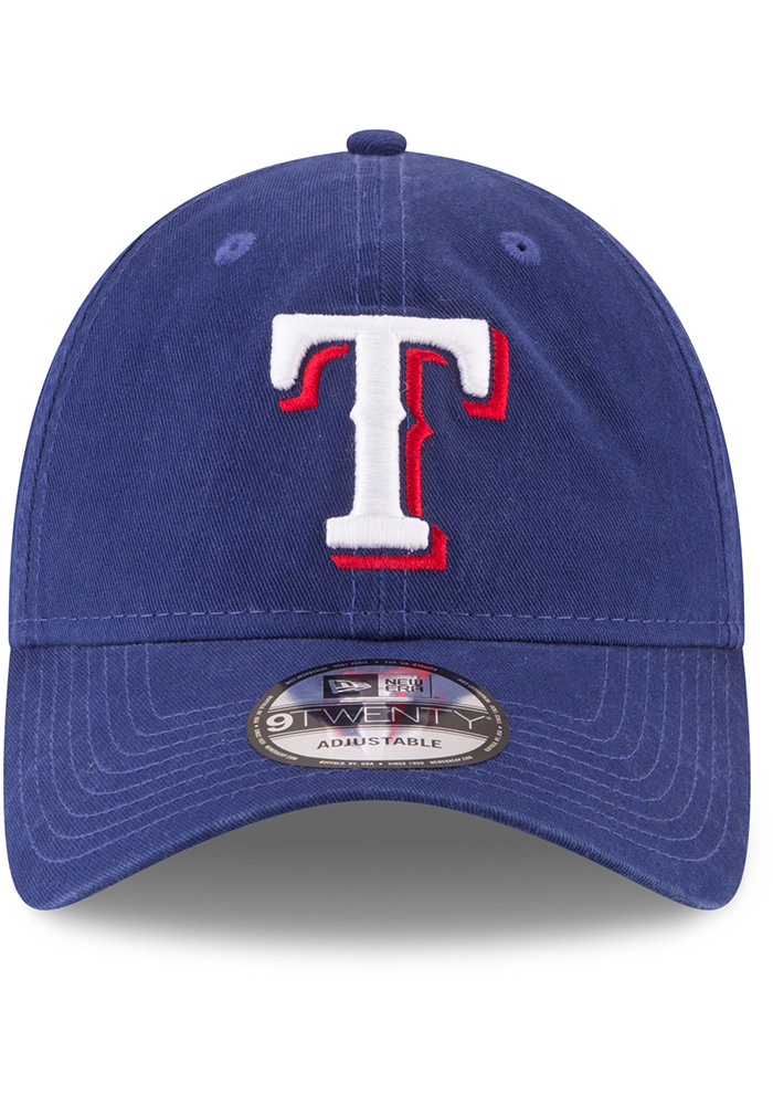 New Era Texas Rangers Core Classic Replica Game 9TWENTY Adjustable Hat - Blue - Image 3