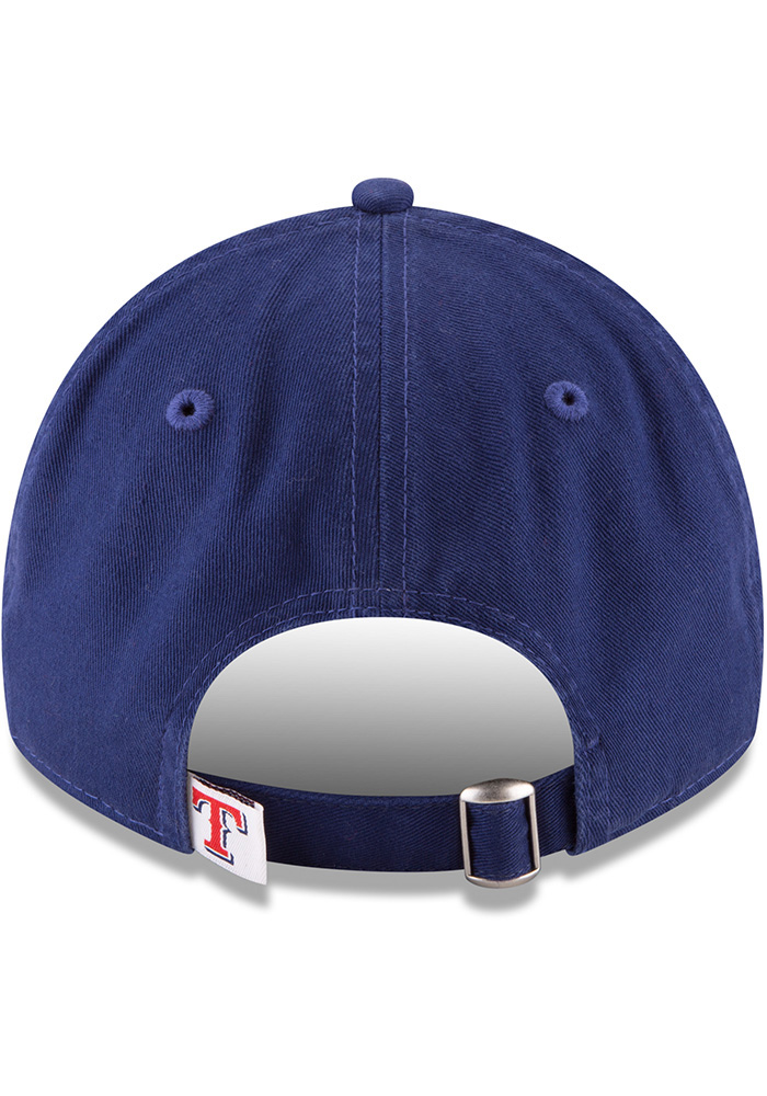 New Era Texas Rangers Core Classic Replica Game 9TWENTY Adjustable Hat - Blue - Image 5