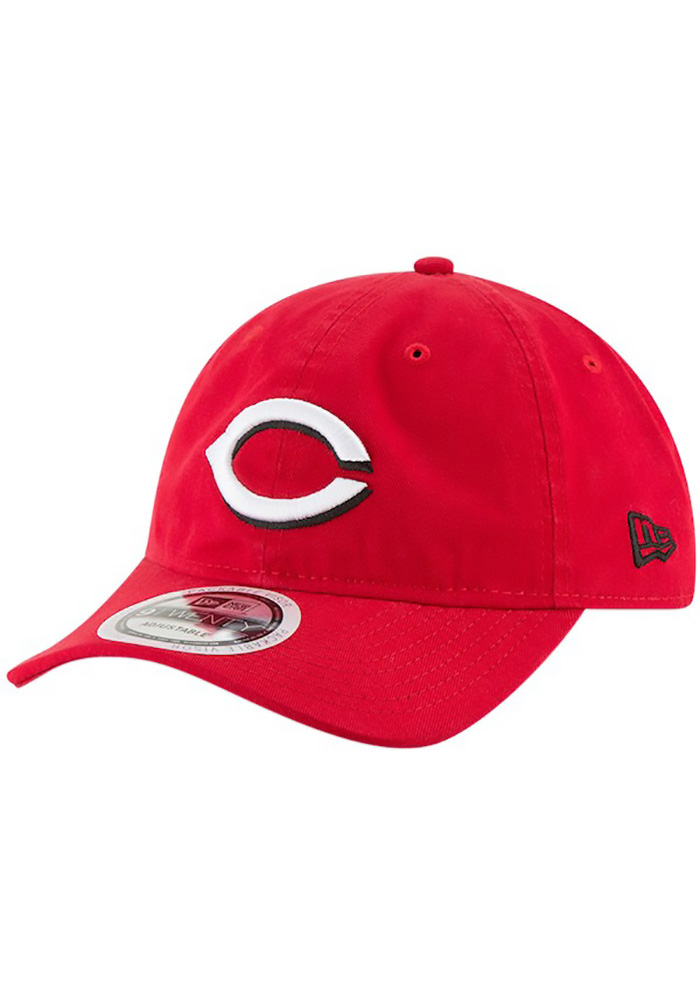 the best attitude b7d69 9c932 New Era Cincinnati Reds Red Core Classic Replica Jr 9TWENTY Youth  Adjustable Hat - Image 1