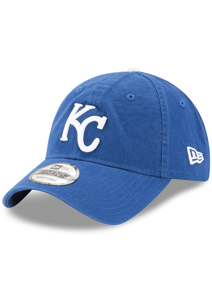 New Era Kansas City Royals Blue Core Classic Replica Jr 9TWENTY Youth Adjustable Hat - Image 1