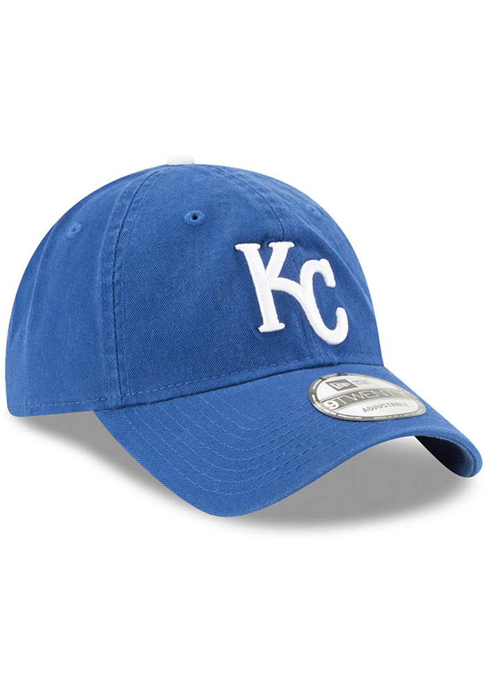 New Era Kansas City Royals Blue Core Classic Replica Jr 9TWENTY Youth Adjustable Hat - Image 2