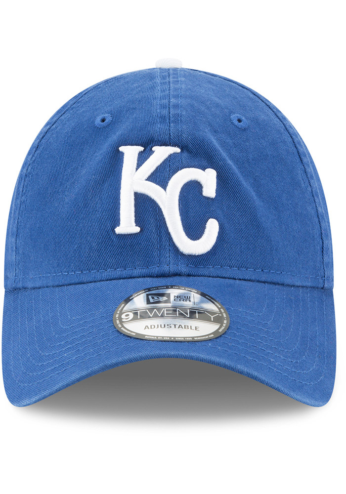 New Era Kansas City Royals Blue Core Classic Replica Jr 9TWENTY Youth Adjustable Hat - Image 3