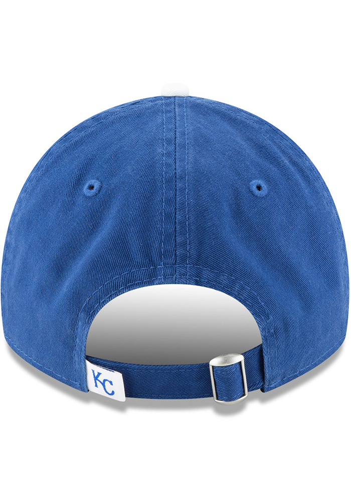 New Era Kansas City Royals Blue Core Classic Replica Jr 9TWENTY Youth Adjustable Hat - Image 5