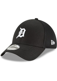 Detroit Tigers New Era Neo 39THIRTY Flex Hat - Black