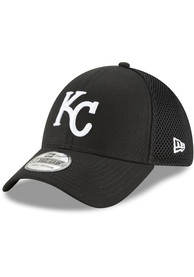 Kansas City Royals New Era Neo 39THIRTY Flex Hat - Black