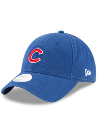 New Era Chicago Cubs Womens Blue Core Classic 9TWENTY Adjustable Hat