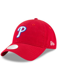 Philadelphia Phillies Womens New Era Team Glisten 9TWENTY Adjustable - Red