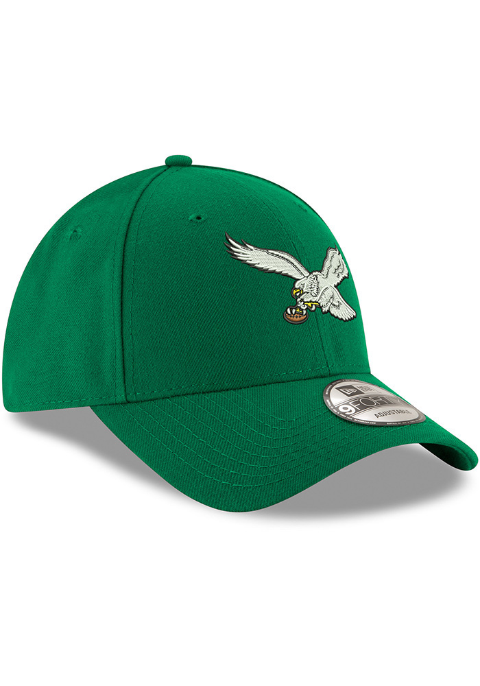 New Era Philadelphia Eagles Retro 9FORTY Adjustable Hat - Kelly Green - Image 2