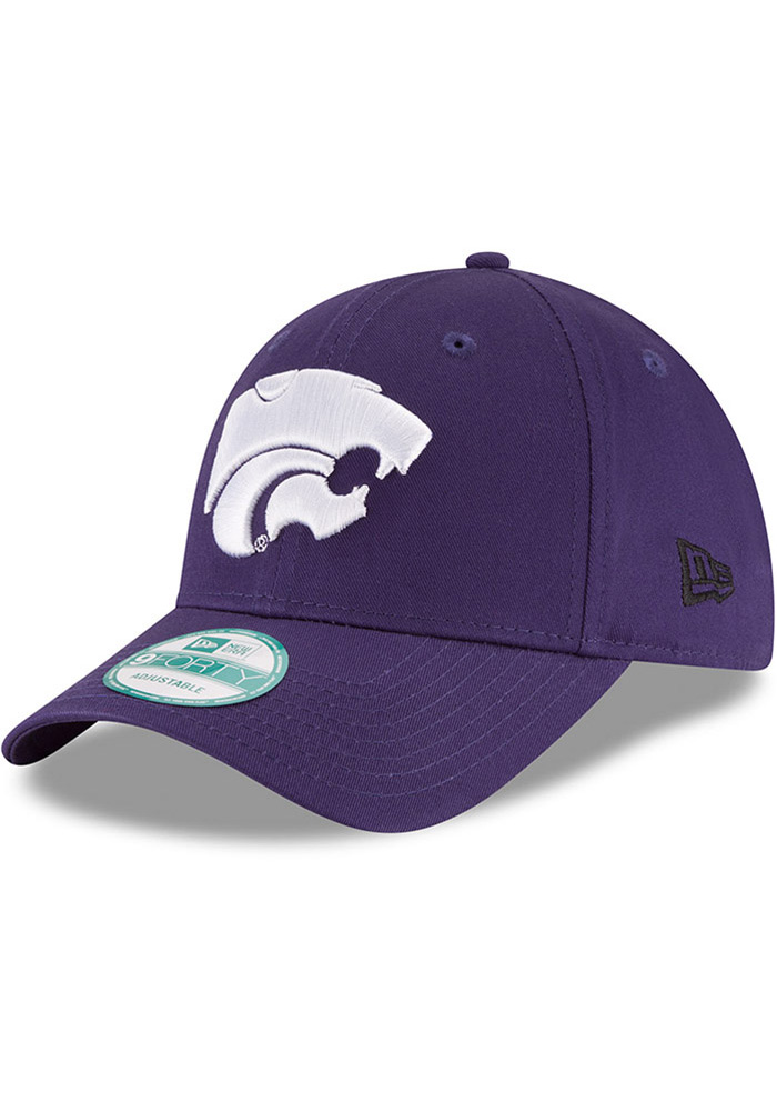 New Era K-State Wildcats The League 9FORTY Adjustable Hat - Purple - Image 1