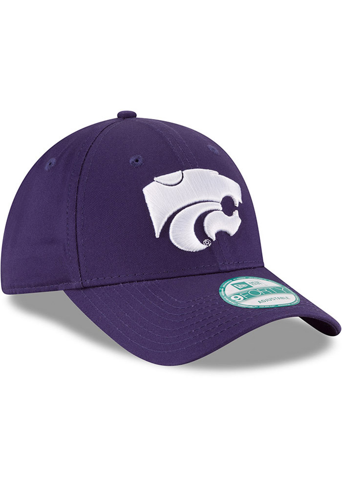 New Era K-State Wildcats The League 9FORTY Adjustable Hat - Purple - Image 2