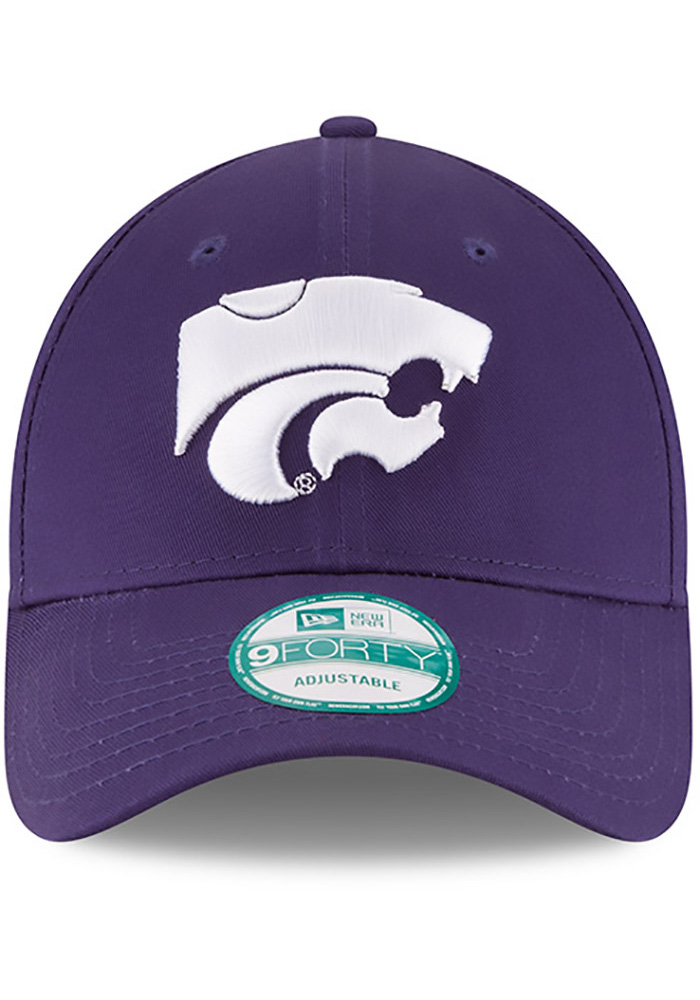 New Era K-State Wildcats The League 9FORTY Adjustable Hat - Purple - Image 3