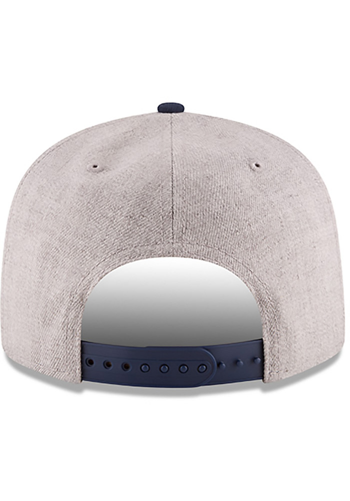 New Era Dallas Mavericks Grey Heather Gray 9FIFTY Mens Snapback Hat - Image 4