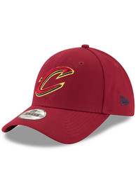 New Era Cleveland Cavaliers Maroon The League JR 9FORTY Youth Adjustable Hat