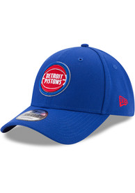 New Era Detroit Pistons The League 9FORTY Adjustable Hat - Blue
