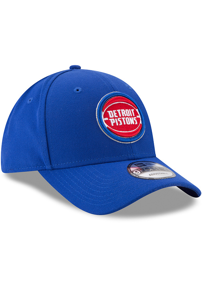 New Era Detroit Pistons The League 9FORTY Adjustable Hat - Blue - Image 2