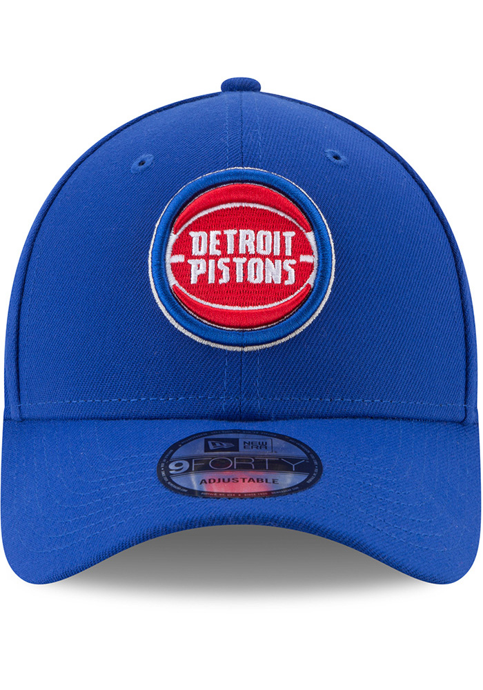 New Era Detroit Pistons The League 9FORTY Adjustable Hat - Blue - Image 3