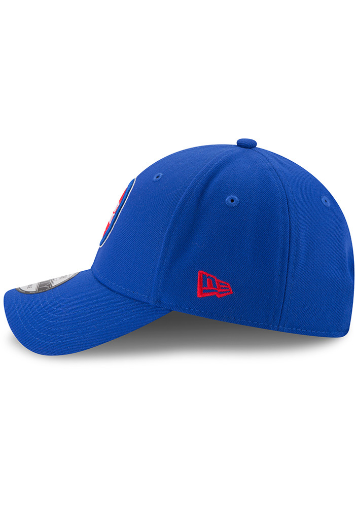 New Era Detroit Pistons The League 9FORTY Adjustable Hat - Blue - Image 4
