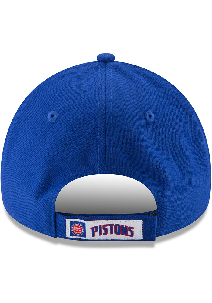 New Era Detroit Pistons The League 9FORTY Adjustable Hat - Blue - Image 5