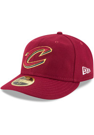Cleveland Cavaliers New Era Fan Retro Fit 59FIFTY Fitted Hat - Red