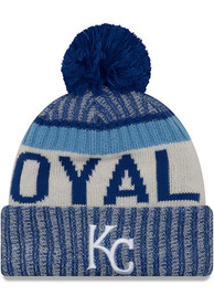 pretty nice 2b761 58aa1 New Era Kansas City Royals Blue NE17 Sport Knit Hat