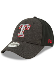 Texas Rangers Toddler New Era Shaded Front Jr 9FORTY Adjustable - Black
