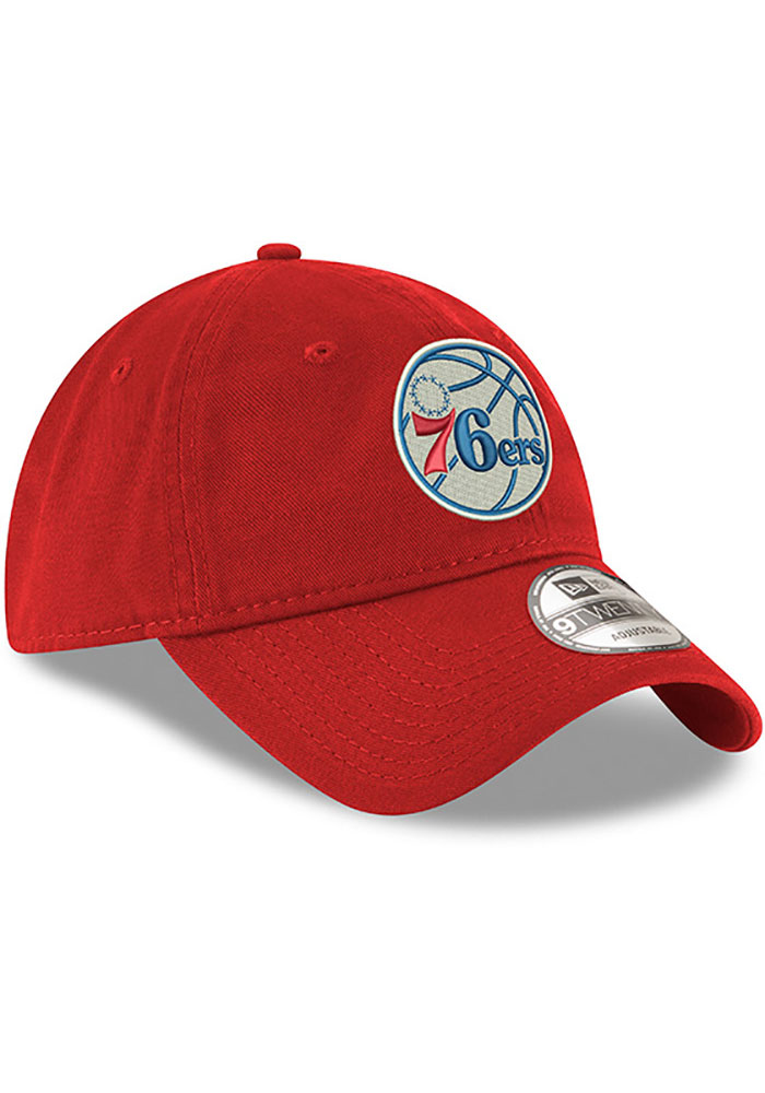 New Era Philadelphia 76ers Blue Core Classic Twill Jr 9TWENTY Youth Adjustable Hat - Image 2
