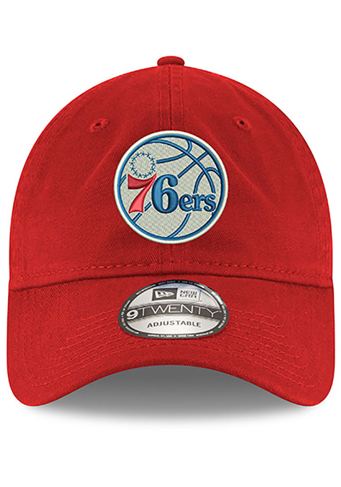 New Era Philadelphia 76ers Blue Core Classic Twill Jr 9TWENTY Youth Adjustable Hat - Image 3
