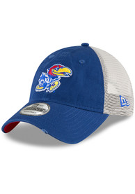 buy popular fb7ec 3e65a New Era Kansas Jayhawks Toddler Blue Stated Back JR 9TWENTY Toddler Hat