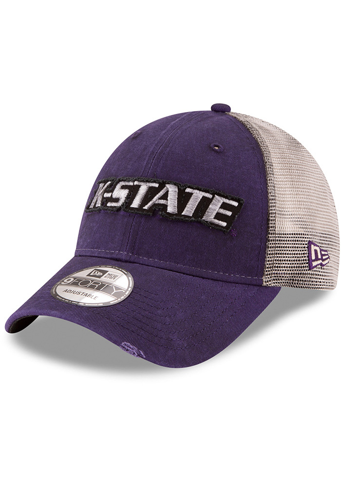... sweden new era k state wildcats purple truckered up 9forty adjustable  hat 39bc0 46f2e bbd99bc06