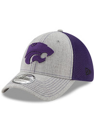 low priced dcccf 6023c New Era K-State Wildcats Grey Heathered Neo 2 39THIRTY Flex Hat