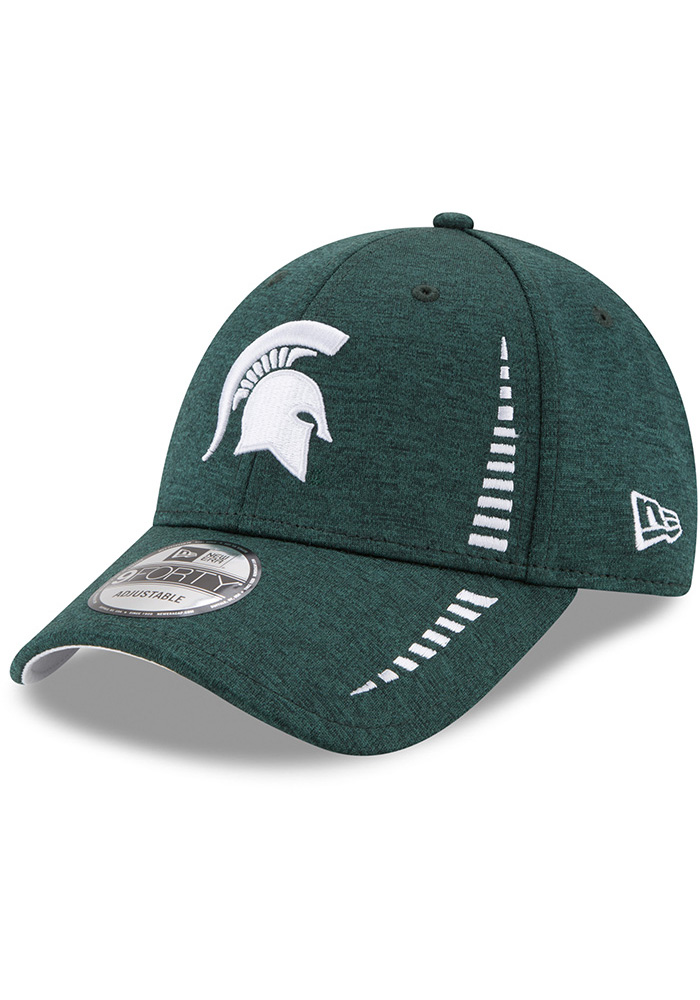 New Era Michigan State Spartans NE Speed STH 9FORTY Adjustable Hat - Green