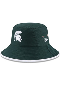 New Era Michigan State Spartans Green Hex Team Youth Bucket Hat