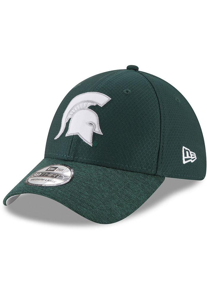 New Era Michigan State Spartans Green Popped Shadow Jr 39THIRTY Youth Flex Hat