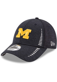 sports shoes 70db6 21fbe New Era Michigan Wolverines NE Speed STH 9FORTY Adjustable Hat - Navy Blue