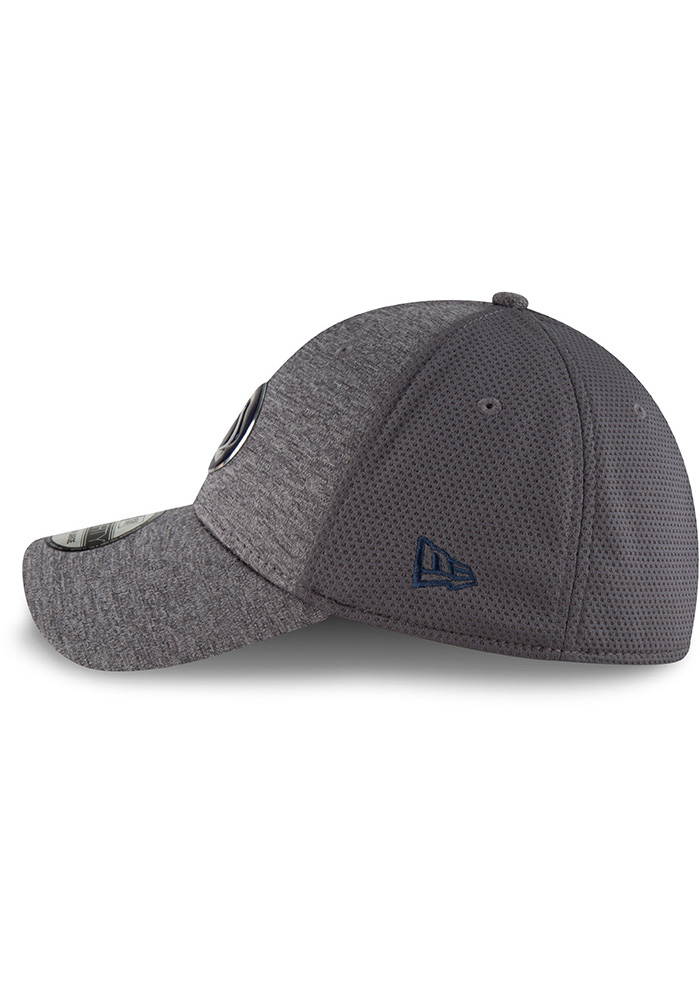 New Era Penn State Nittany Lions Mens Grey Shaded Luster 39THIRTY Flex Hat - Image 4