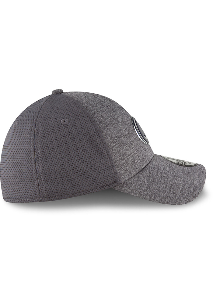 New Era Penn State Nittany Lions Mens Grey Shaded Luster 39THIRTY Flex Hat - Image 6
