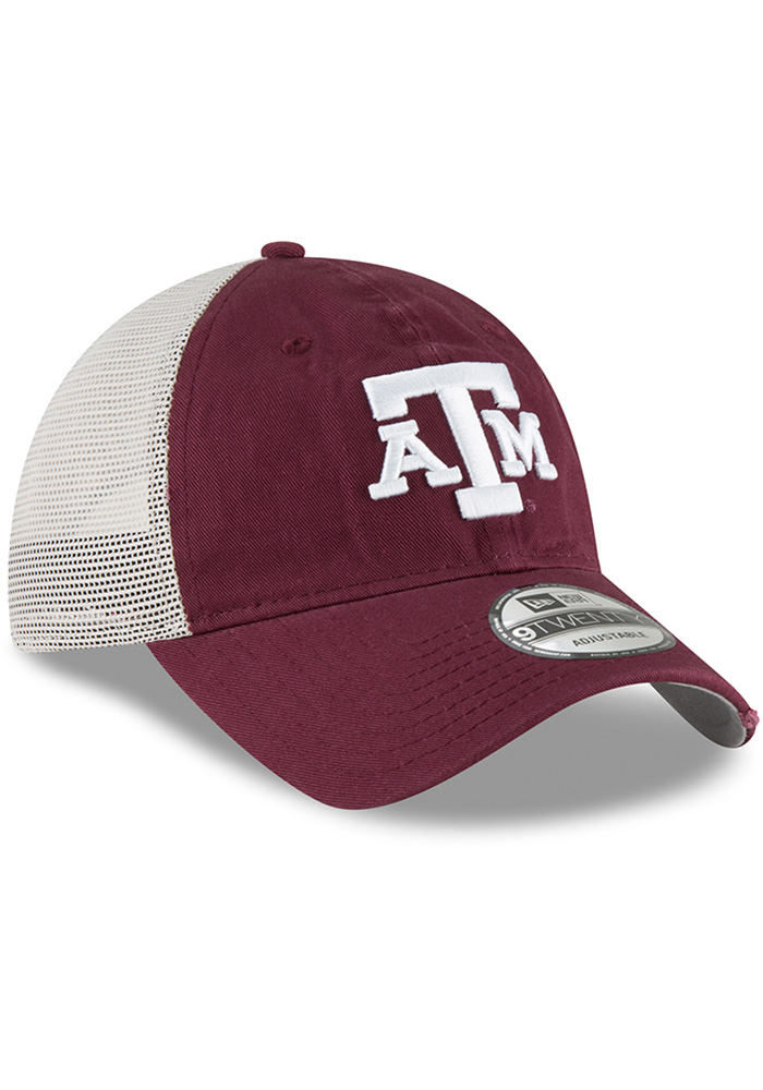 New Era Texas A&M Aggies Stated Back 9TWENTY Adjustable Hat - Maroon - Image 2