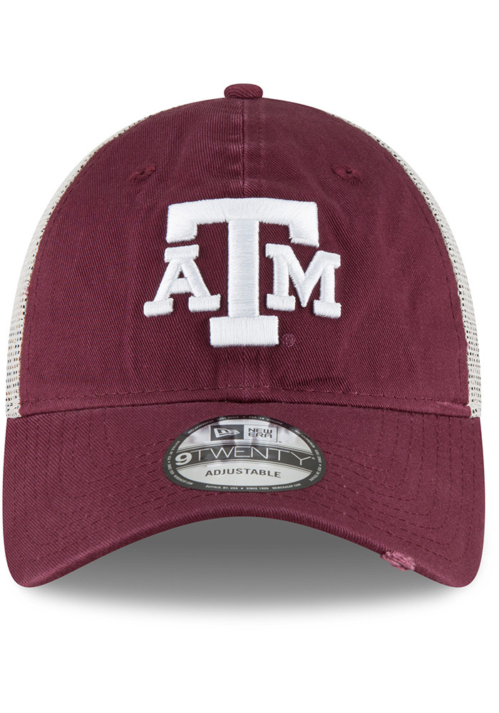 New Era Texas A&M Aggies Stated Back 9TWENTY Adjustable Hat - Maroon - Image 3