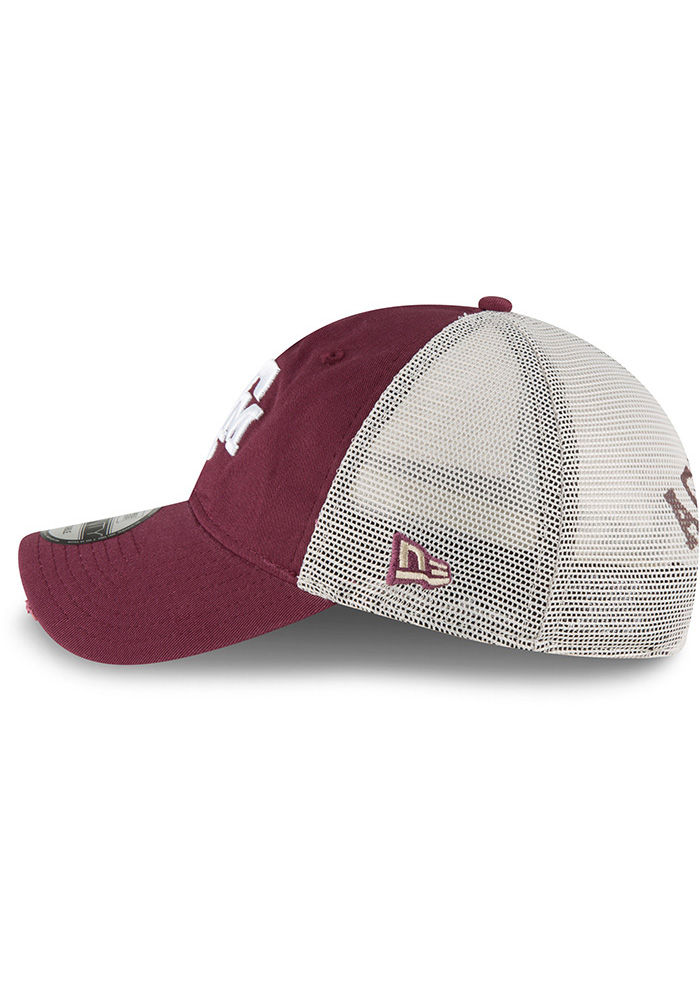 New Era Texas A&M Aggies Stated Back 9TWENTY Adjustable Hat - Maroon - Image 4