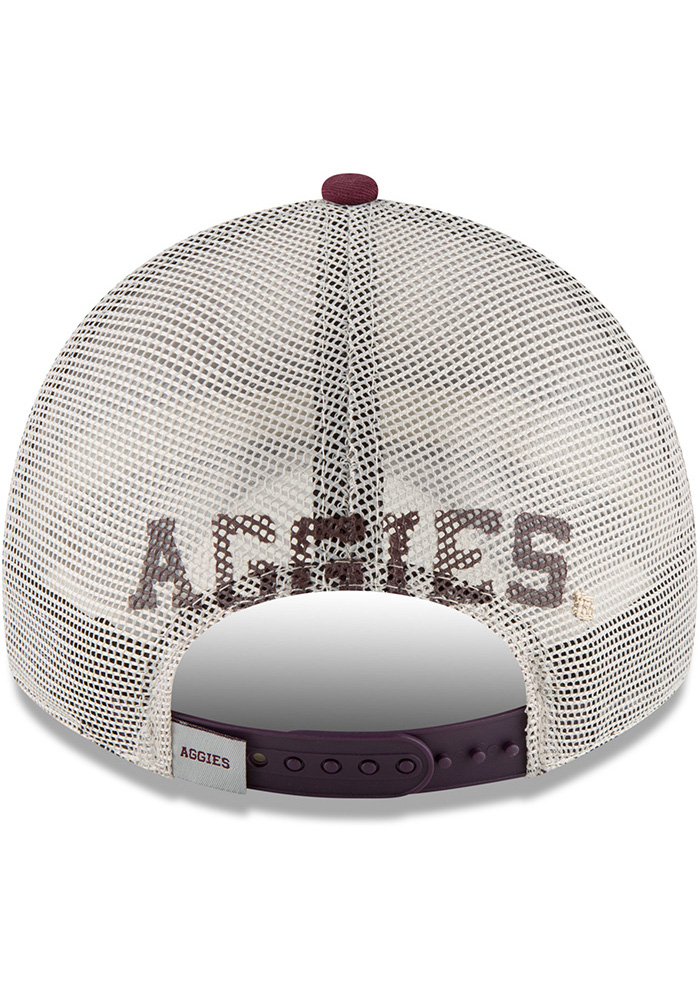 New Era Texas A&M Aggies Stated Back 9TWENTY Adjustable Hat - Maroon - Image 5