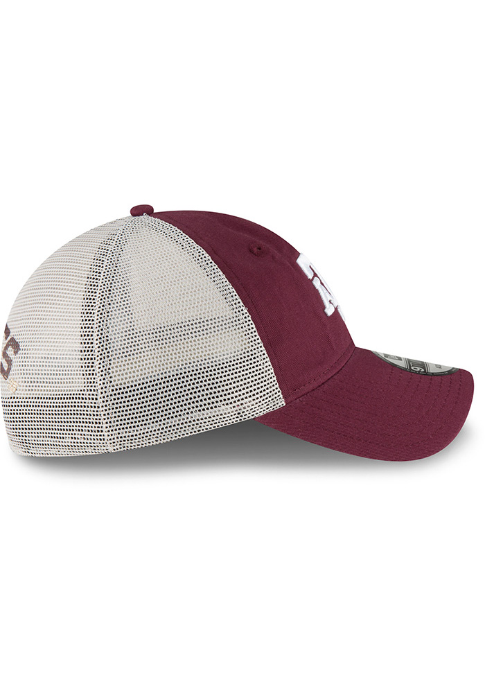 New Era Texas A&M Aggies Stated Back 9TWENTY Adjustable Hat - Maroon - Image 6