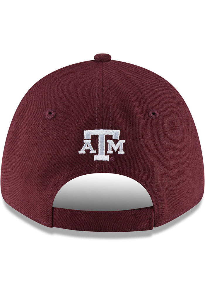 New Era Texas A&M Aggies Shaded Front 9FORTY Adjustable Hat - Black - Image 5