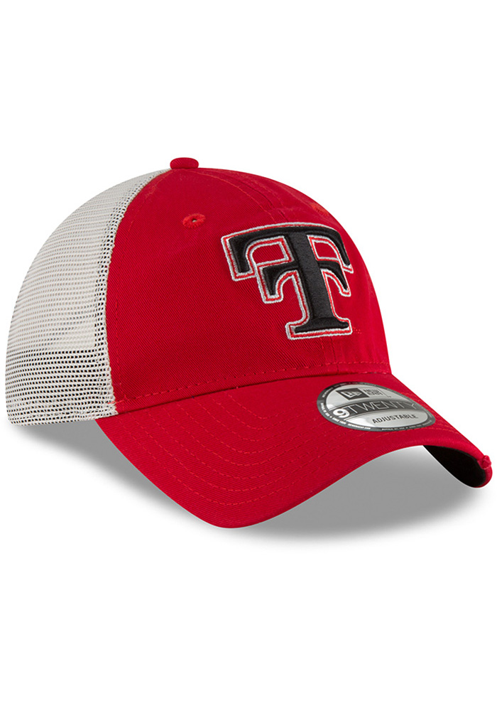 New Era Texas Tech Red Raiders Mens Red Vintage Stated Back 9TWENTY Adjustable Hat - Image 2