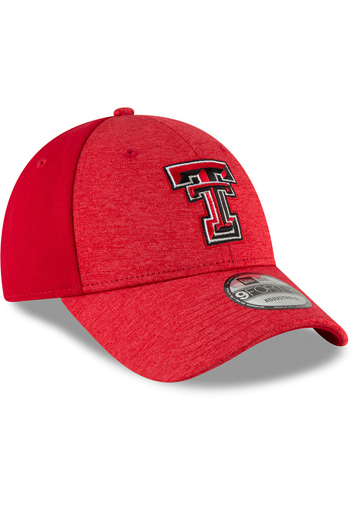 New Era Texas Tech Red Raiders Shaded Front 9FORTY Adjustable Hat - Black - Image 2