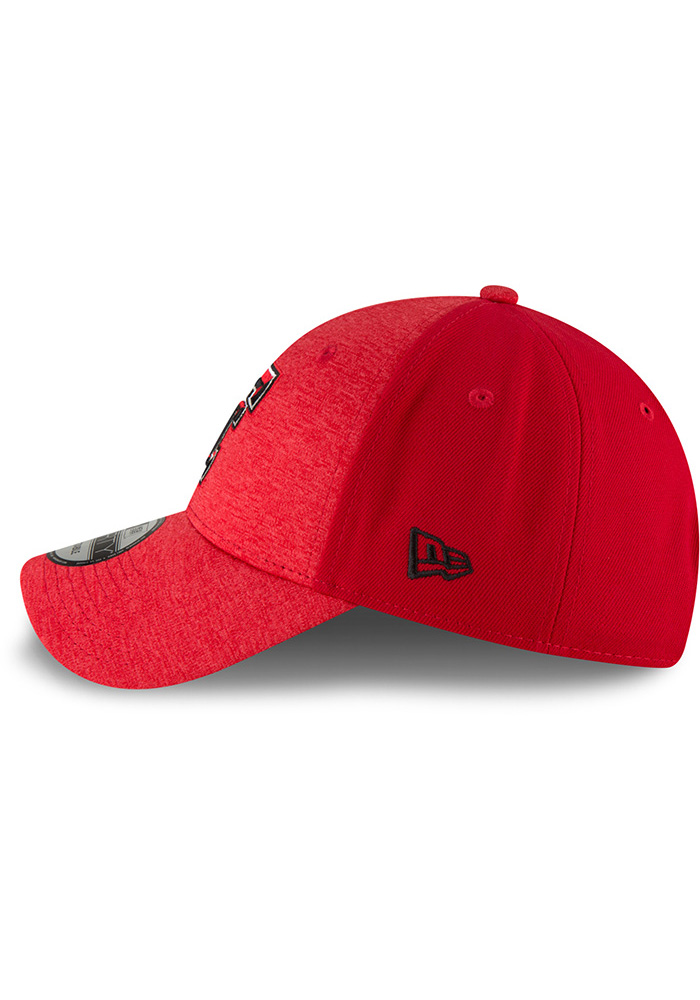 New Era Texas Tech Red Raiders Shaded Front 9FORTY Adjustable Hat - Black - Image 4