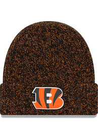 new product 10f4e eb87b New Era Cincinnati Bengals Womens Black NFL18 Official Knit Hat