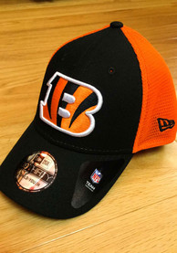 New Era Cincinnati Bengals Orange 2T Sided Jr 39THIRTY Youth Flex Hat