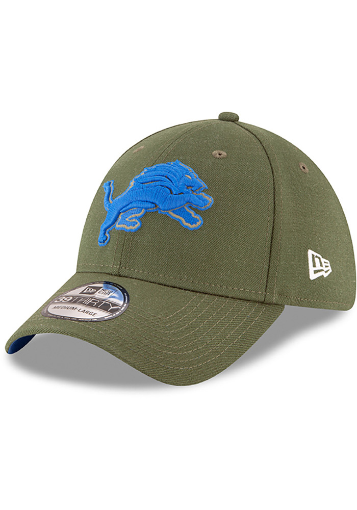 New Era Detroit Lions Green NFL18 STS 39THIRTY Flex Hat. In Store Only c421f00fe